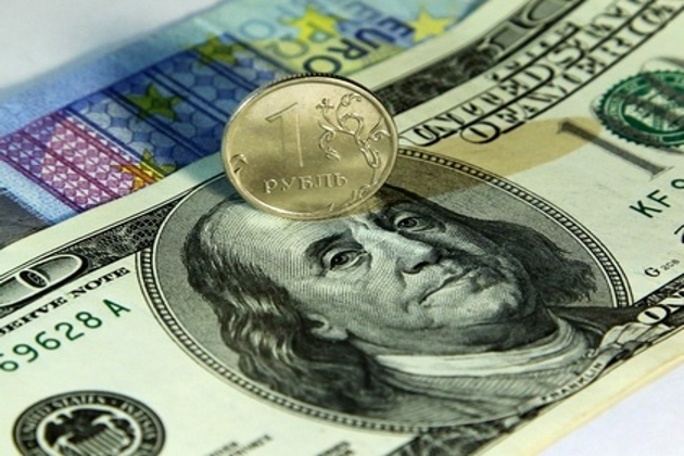 Коррекция рубля