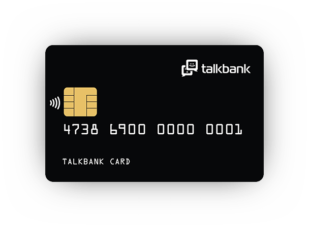 TalkBank предлагает виртуальную карту в мессенджерах